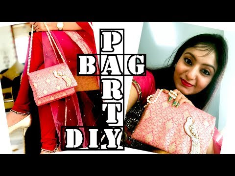 DIY Designer Party Clutch Bag | How to make clutch with a string at home