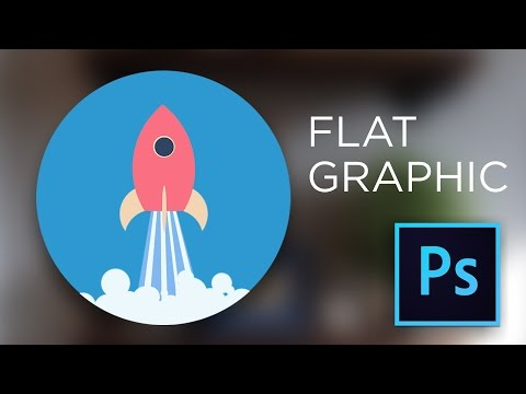 Flat Icon Photoshop Tutorial: Learn how to create quick flat graphics in Photoshop from scratch