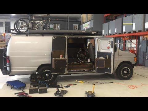 Battery change on a 2004 Ford E350 6.0L