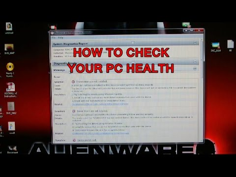 HOW TO CHECK- Your pc health status for windows