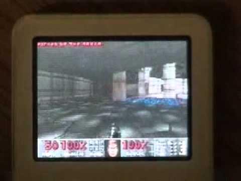 iDoom running on iPod nano