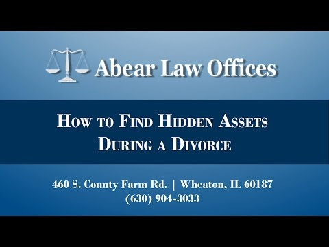 How to Find Hidden Assets During a Divorce in DuPage County
