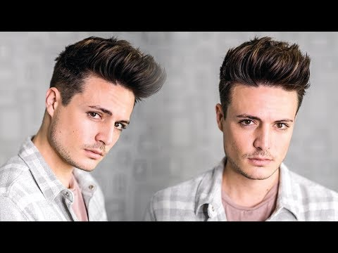 Super Easy Texture Quiff Hairstyle Tutorial 2018 | Mens New Year New Hair! | BluMaan 2018