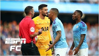 Former referee explains why Man City weren't awarded a penalty for Lamela incident   Premier League