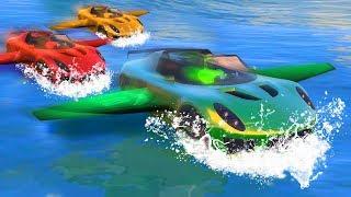 BOAT + PLANE + CAR = EPIC GTA 5 DLC!