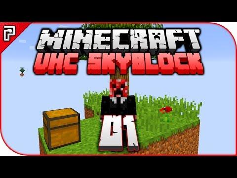 Minecraft UHC Skyblock   The Challenge Begins!   Let's Play Minecraft Survival 1.11 PC [Episode 1]