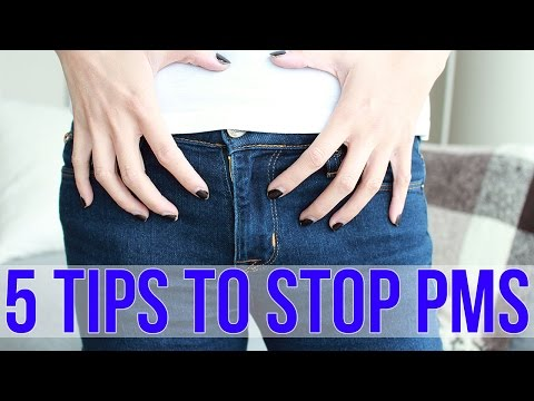 HOW TO: Stop Period Cramps & PMS FAST!