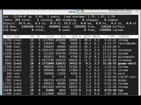 Archlinux with Gnome 3 on a i7 1.6 ghz and 6GB of Ram -- Poor performance