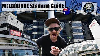 STADIUMS in MELBOURNE! Marvel Stadium, MCG, AAMI Park and more. A great day of GROUNDHOPPING!