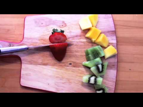 How to make traffic light fruit lunch box idea