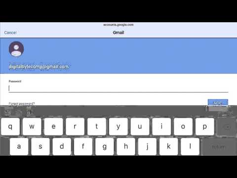 How to setup gmail (google email) on Apple iPad running iOS | VIDEO TUTORIAL