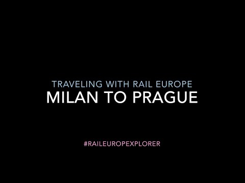 #RailEuropeXplorer: Milan to Prague by Rail and Road with Rail Europe