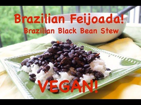 Feijoada (Brazilian Black Bean Stew) Vegetarian! 2016 Olympics Special!