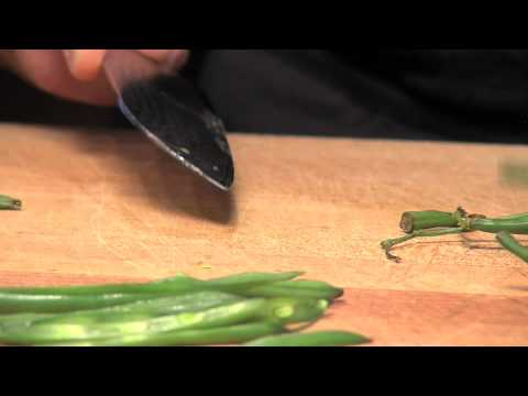 Chef Tips: Fresh Cut Green Beans
