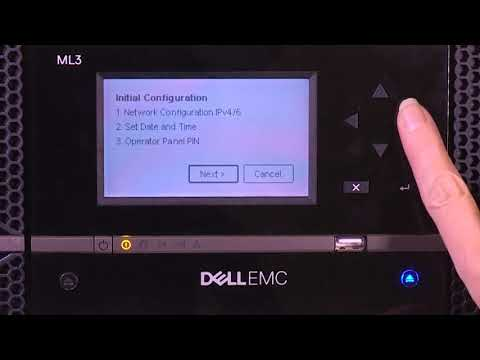 Dell Storage ML3: Initial Setup
