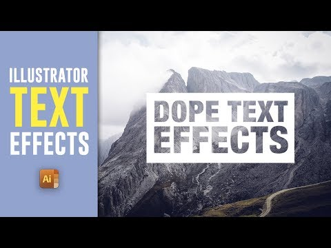 5 COOL WAYS TO ENHANCE TEXT IN ILLUSTRATOR - Illustrator Text Effects - Satori Graphics