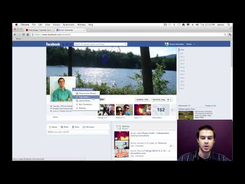 How to Change the Facebook Timeline Profile Picture