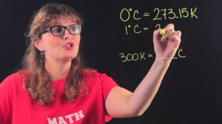How To Convert From Kelvin Temperatures To Degrees Celsius