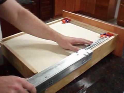 RTA Cabinet Store.com : Soft Close Drawer Glide Installation