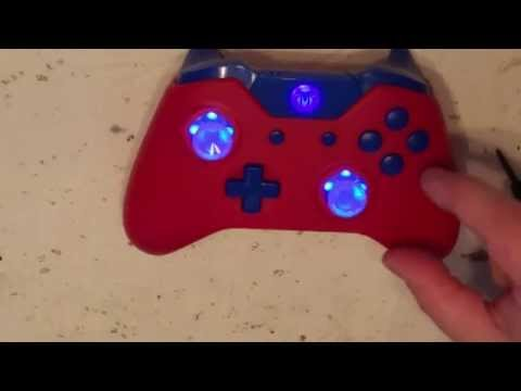 DIY GAMER Xbox one 7 color Selectable w/5 brightness levels LED thumbstick Modification.