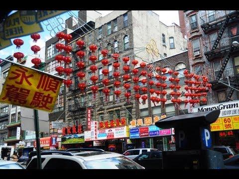 Chinatown Manhattan NYC 2013