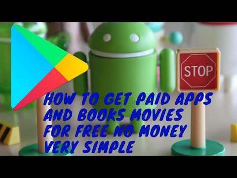 how to get any paid app for free on google play store |books|movies|any more
