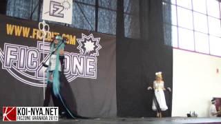 Actuación del concurso de cosplay del FicZone de Granada, convención de juegos, animación y cómic.  http://ficzone.com http://koi-nya.net