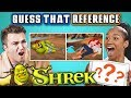 GUESS THAT SHREK REFERENCE CHALLENGE React