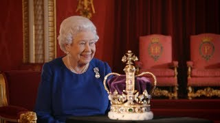 The diamond encrusted Imperial State Crown | The Coronation