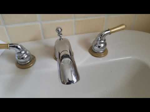 Fixing Slow Flow on an Old Bathroom Sink