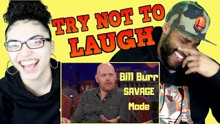 MY DAD REACTS TO Bill Burr Roasting People like a BOSS | Bill Burr Savage mode REACTION