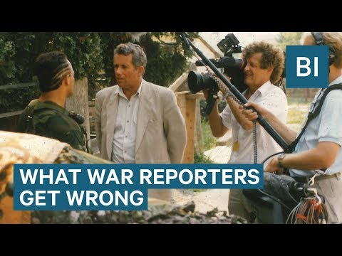 What News Organizations Get Wrong About Conflict Reporting, According To A Veteran War Reporter