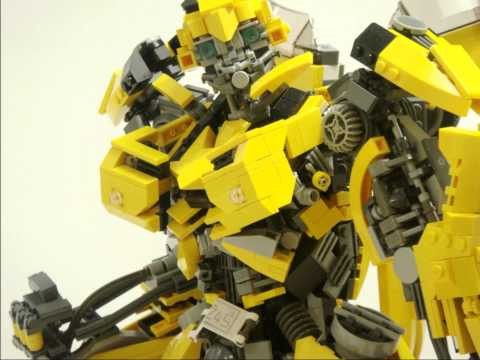 LEGO Transformers Bumblebee レゴで作るバンブルビー