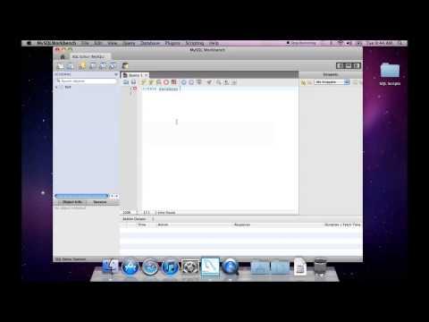 Create a Database Schema-MySQL Workbench
