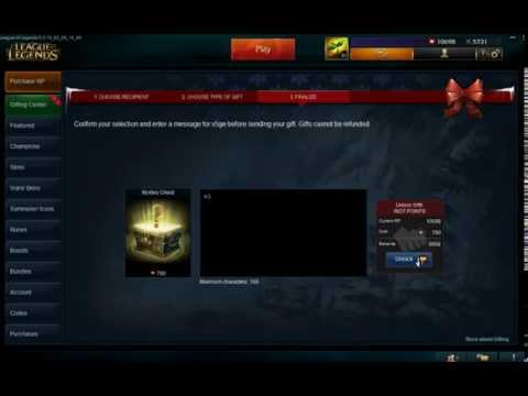 League of Legends Gifting Mystery Skins #8