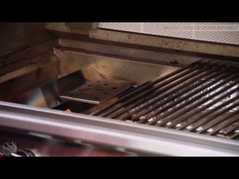 How to use the V-Shaped smoke box on Bull BBQ Grills