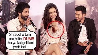 Shahid Kapoor Makes FUN Of Shraddha Kapoor