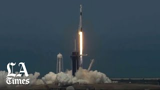 NASA and SpaceX launch astronauts from U.S. soil for the first time since 2011