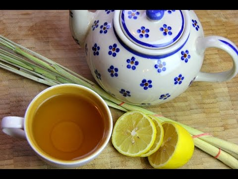 Lemongrass Tea (fever grass tea in the Caribbean).