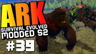 ARK Survival Evolved - DRAGON GOD VS WARDEN BOSSES, PIMP MY