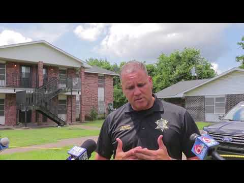 Mike Tregre, St. John Parish Sheriff talks about double homicide