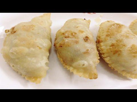 खोया/मावा गुजिया। Khoya/Mawa Gujiya | Eid Special | Karanji Recipe In Hindi - How To Make Gujiya