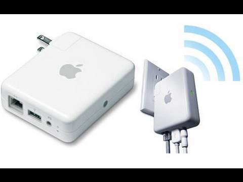 A Demonstration of AirTunes (With iTunes, the Airport Express, and  the Apple Remote App)