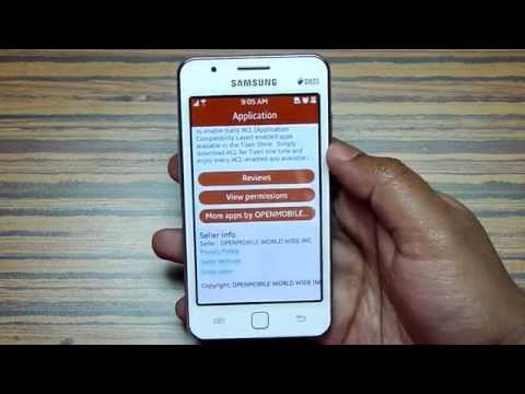 How to Install Android Apps into Samsung Z1 - ACL for Tizen