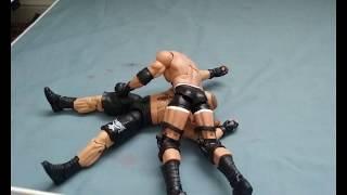 Survivor Series: Goldberg vs Brock Lesnar (Stop Motion)
