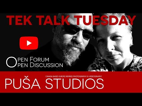 Puša Studios Tube Life #066 TEK TALK TUESDAY How to make Thumbnails / Youtube Channel Art