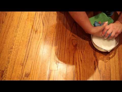 How to Remove Floor Wax