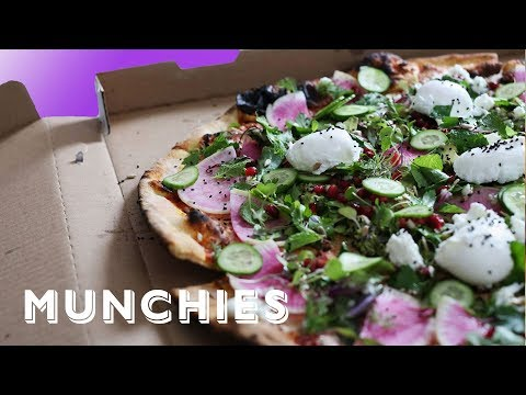 Cure Your Hangover with Avocado Toast Pizza with an Ice Cream Sundae
