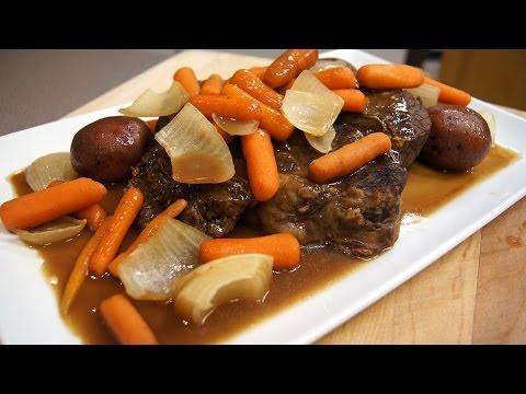 Slow Cooker Beef Pot Roast