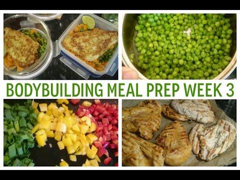 Costco UK Grocery Haul | Meal Prep for the Week | Bodybuilding Meal Plan Week 3